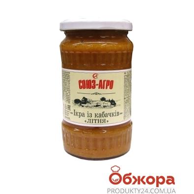 Икра кабачковая Союз-Агро Летняя 355 г – ИМ «Обжора»