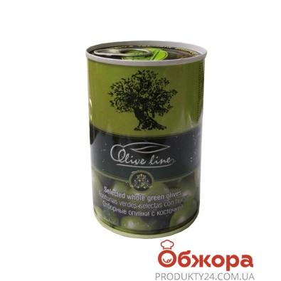 Оливки Олив Лайн (Olive Line) с/к 420 гр. – ИМ «Обжора»