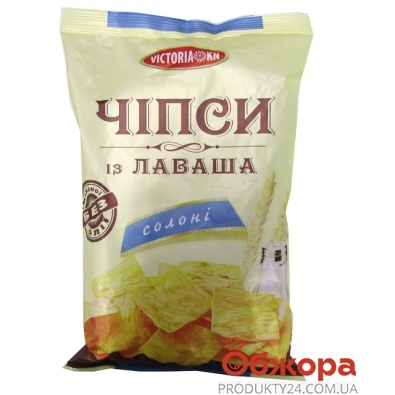 Чипсы Виктория из лаваша соль 125г – ИМ «Обжора»