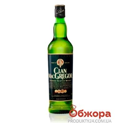 Виски Клан Мак Грегор (Clan MacGregor) 0.7л – ИМ «Обжора»