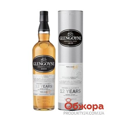 Виски Гленгойн (Glengoyne) 12 лет 0,7 л – ИМ «Обжора»
