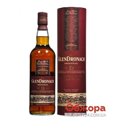 Виски Глендронах (Glendronach) 12 лет 0,7 л – ІМ «Обжора»