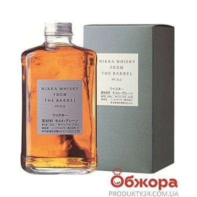 Виски Ол Молт (All Malt) Nikka From The Barrel 0,5 л – ИМ «Обжора»