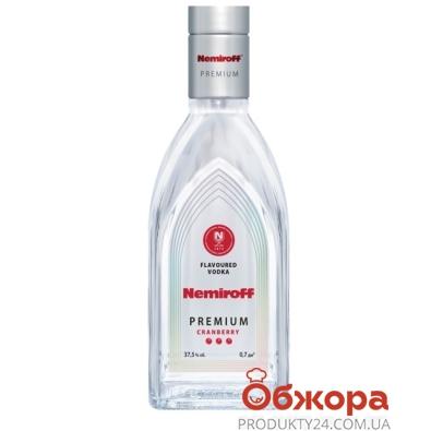 Водка Немирофф (Nemiroff) премиум 0,7л 37,5% клюква – ИМ «Обжора»