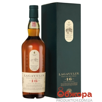 Виски Лагавулин (Lagavulin)  0.7л 16 лет – ИМ «Обжора»