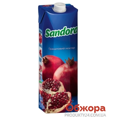Сок Сандора (Sandora) гранат 1 л – ИМ «Обжора»