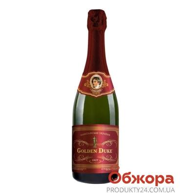 Шампанское Одесса Золотой Дюк белое брют 0,7 л – ИМ «Обжора»