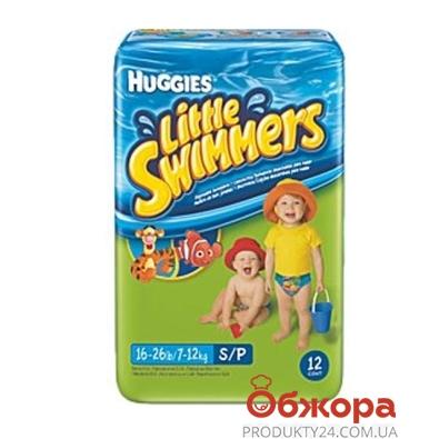 Підгузки HUGGIES Little Swimmers Naz (3-4 кг) 12 шт EU – ІМ «Обжора»