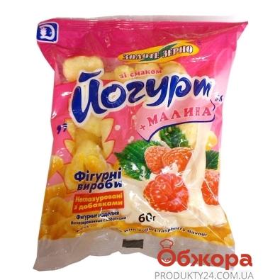 Кукурузные палочки Золотое зерно Салют Йогурт-Малина 60 г – ИМ «Обжора»