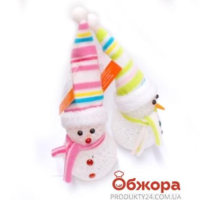 Статуэтка Снеговик CR151 светящ.подвес. – ИМ «Обжора»