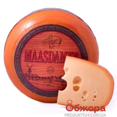Сыр Маасдам 50% Староказачье СЗ весовой – ИМ «Обжора»