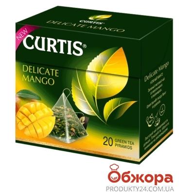 Чай Кертіс 20 п пірам. Tropic Mango – ІМ «Обжора»