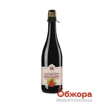 Напиток винный Palestro Фраголино красный 0,75л – ИМ «Обжора»