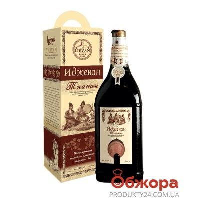 Вино Иджеван (Ijevan) Танакaн красное сухое 3,0 л – ИМ «Обжора»