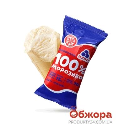 Мороженое Рудь Стакан Пломбир 100% 70 г – ИМ «Обжора»