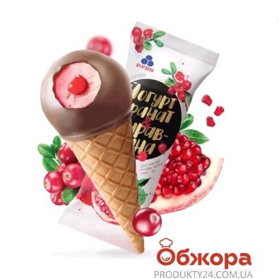 Мороженое Рудь Йогурт гранат-клюква 70г – ИМ «Обжора»