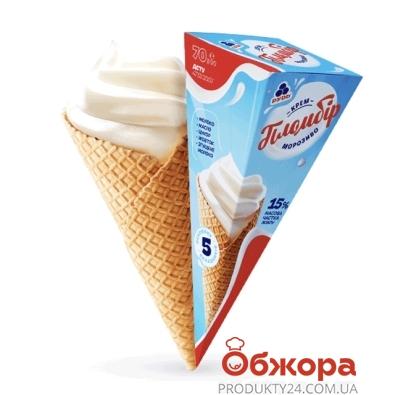 Мороженое Рудь Крем-пломбир 70 г – ИМ «Обжора»
