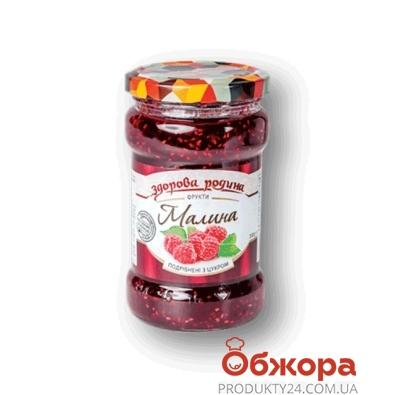 Малина с сахаром Здорова родина 0,35 л – ИМ «Обжора»