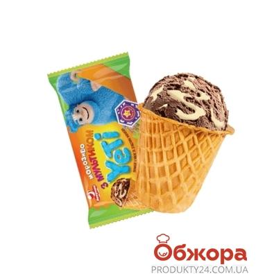 Мороженое Ласунка Yeti пломбир с какао и сгущенное 70 г – ИМ «Обжора»