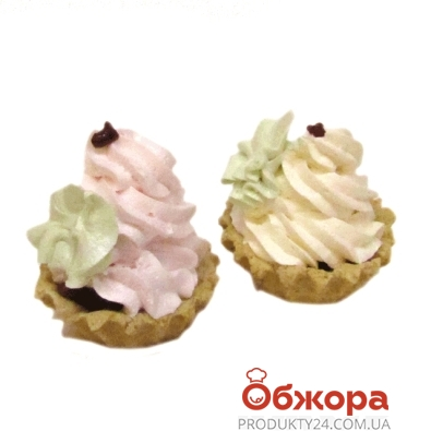 Пирожное Булкин Корзинка с белковым кремом 0,090г – ИМ «Обжора»