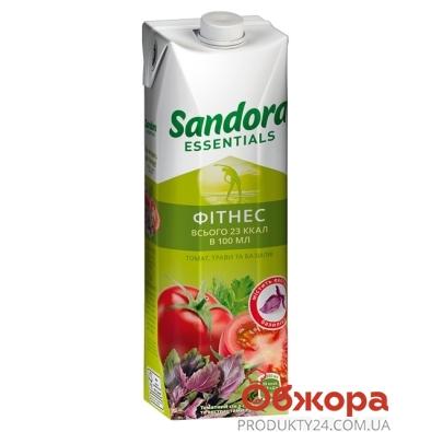 """Томатный сок с солью и экстрактами трав """"Фитнес"""" 0.95 л  """"Sandora Essentials"""" – ИМ «Обжора»"""