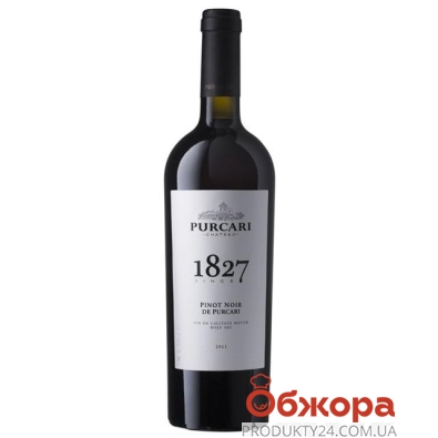 Вино Пуркари (Purcari) Пино-Нуар марочное 0,75 л – ИМ «Обжора»