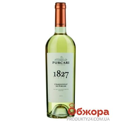 Вино Пуркари (Purcari) Шардоне марочное 0,75 л – ИМ «Обжора»