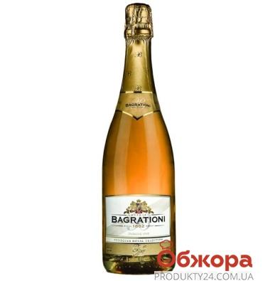Шампанское Багратиони (Bagrationi) золотое п/сл 0,75 л – ИМ «Обжора»
