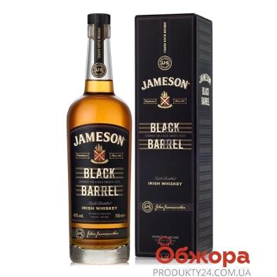 Віскі Джеймсон Black Barrel кор. 0,7л. 40% – ІМ «Обжора»