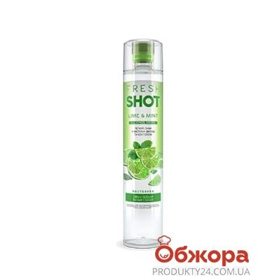 Водка Фреш шот (Fresh Shot) Лайм-Мята 0,5 л 28% – ИМ «Обжора»