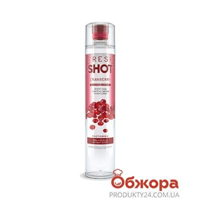 Водка Фреш шот (Fresh Shot) Клюква 0,5 л 28% – ИМ «Обжора»