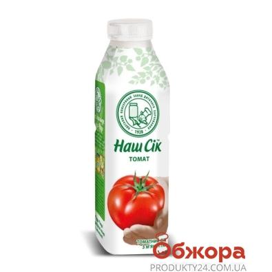 Сок Наш Сок томат 0,5 л – ИМ «Обжора»