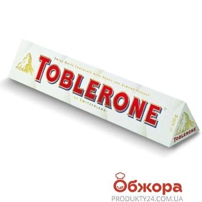 Шоколад Таблерон (Toblerone) белый 100 г – ИМ «Обжора»