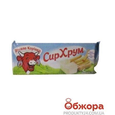 Сыр Веселая коровка Хрум 45% с хлебными палочками 35 г – ИМ «Обжора»