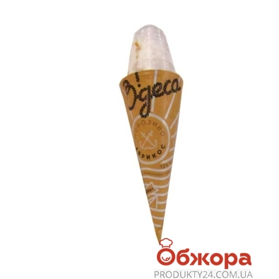 Мороженое Одесса с абрикосовым топпингом 140 г – ИМ «Обжора»