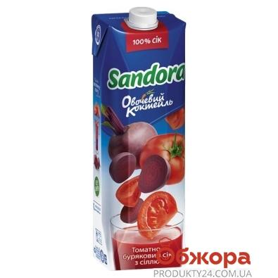 Сок Сандора (Sandora) Овощной коктейль томатно-буряковый 1 л – ИМ «Обжора»