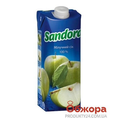 Сік Сандора 0,5л яблуко – ІМ «Обжора»