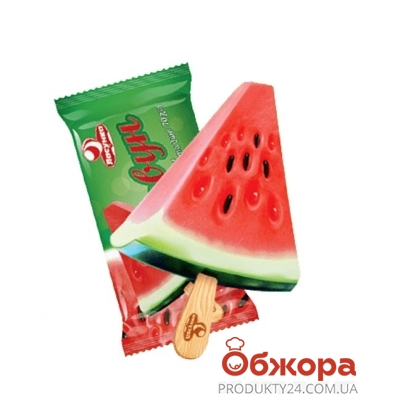 Мороженое Ласунка (Lasunka) Щербет Арбуз 75 г – ИМ «Обжора»
