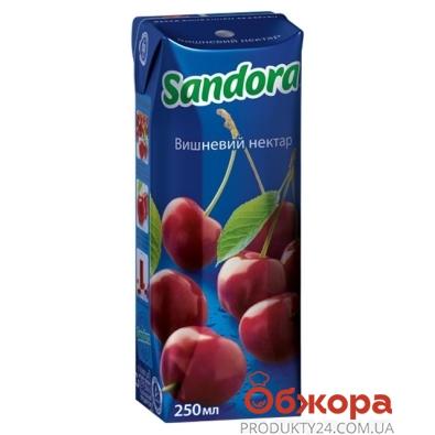 Сок Сандора (Sandora) вишня 0,25 л – ИМ «Обжора»