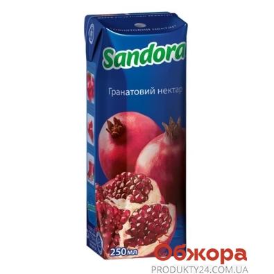 Сок Сандора (Sandora) гранатовый нектар 0.25 л – ИМ «Обжора»