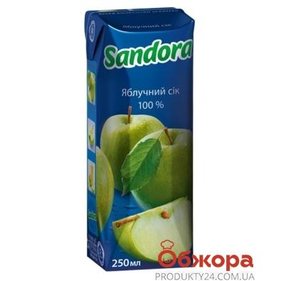 Сок Сандора (Sandora) зеленое яблоко 0,25 л – ИМ «Обжора»