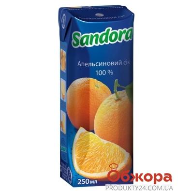 Сок Сандора (Sandora) апельсин 0,25 л – ИМ «Обжора»