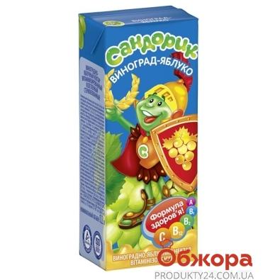 Сок Сандорик 0.2 л. виноград-яблоко – ИМ «Обжора»