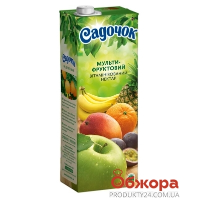 Нектар Садочок мультифрукт 1.5 л – ИМ «Обжора»