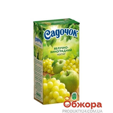 Нектар Садочок яблочно-виноградный 0.5 л – ИМ «Обжора»