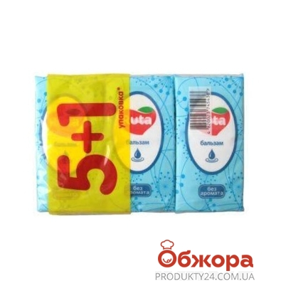 Платки нос. Рута (Ruta) 5+1 белые уп-ка – ИМ «Обжора»