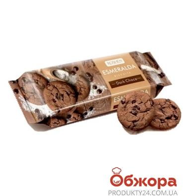 Печенье Рошен (Roshen) Эсмеральда с кусочками шоколада 150 г – ИМ «Обжора»