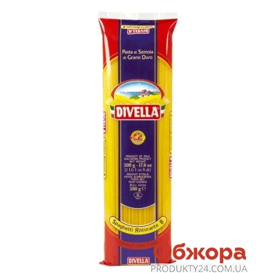 Макароны Дивелла (Divella) спагетти N8 500 г – ИМ «Обжора»
