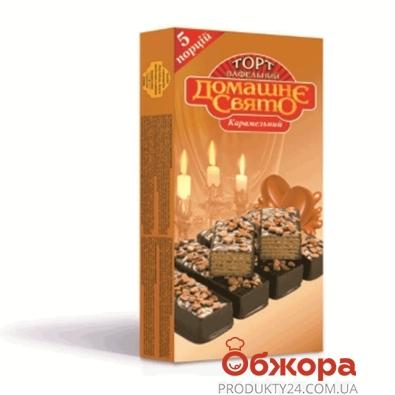 Торт Домашне Свято  карамель 200г – ИМ «Обжора»