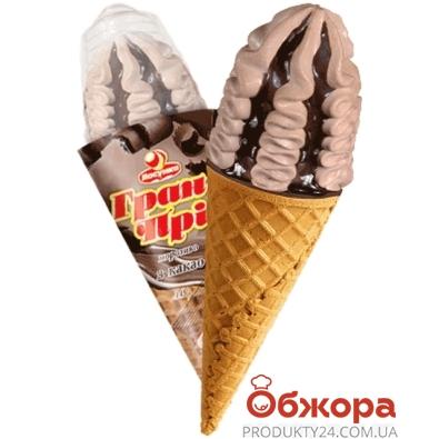 Мороженое Ласунка Гран-при шоколадный соус 0,14кг – ИМ «Обжора»